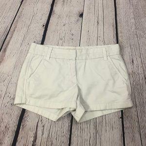 J. Crew White Shorts